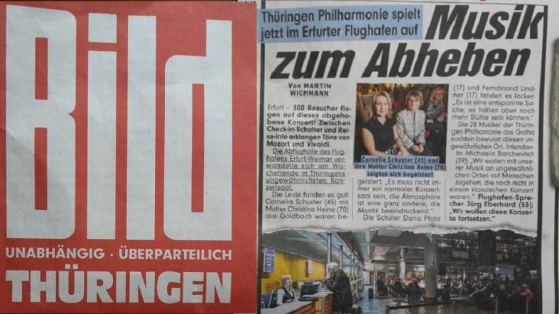 2016.02.20 Konzert FlughafenTerminal 22 Presse-Nachbetrachtung