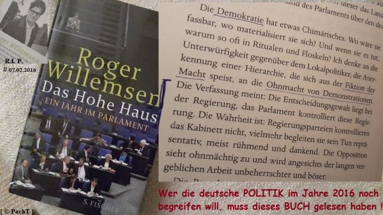 Buch Das hohe Haus R. Willemsem 1