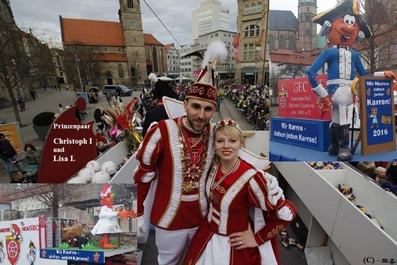 GEC - Prinzenpaar 2015 Christoph I. u. Lisa I. -- m.g.