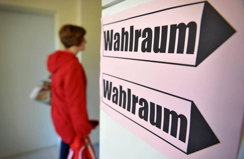 W a h l - Raum