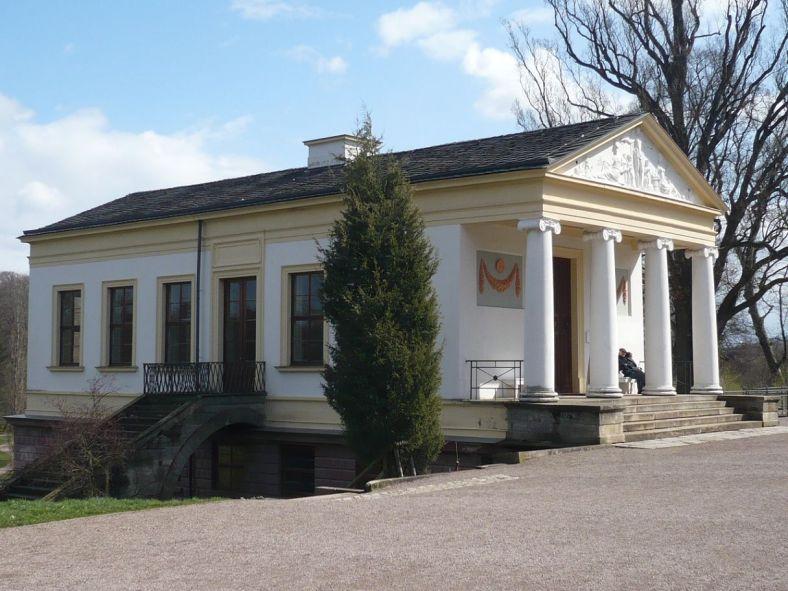 Weimar IlmPark Römisches Haus 1