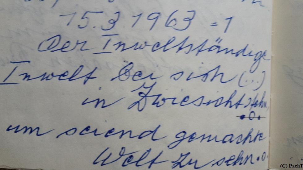1887 - 1974 Erinnerung an meinen Opa Handschrift fasziniert 3