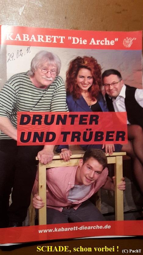 2016.02.29. Kabarett DRUNTER und Trüber 21 MerkHeft