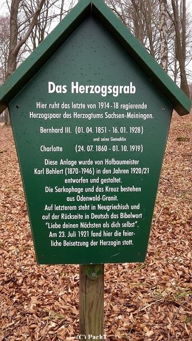 21 Schloss u. Park Altenstein Herzogsgrab