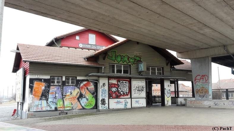 Magdeburger Allee _ NORDBAHNHOF Ostseite