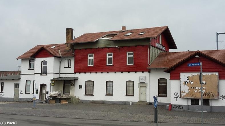 Magdeburger Allee _ NORDBAHNHOF Südseite