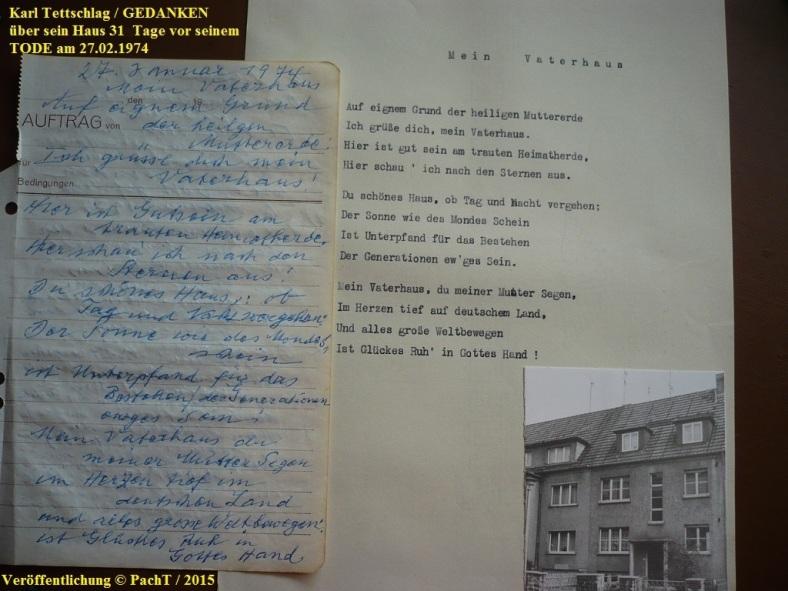 1887 - 1974 Opa Karl _ VaterHaus 1 Gedanken