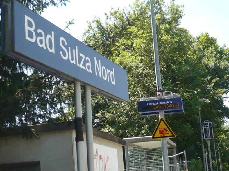 Bad Sulza 31 Kurs auf Bad Sulza