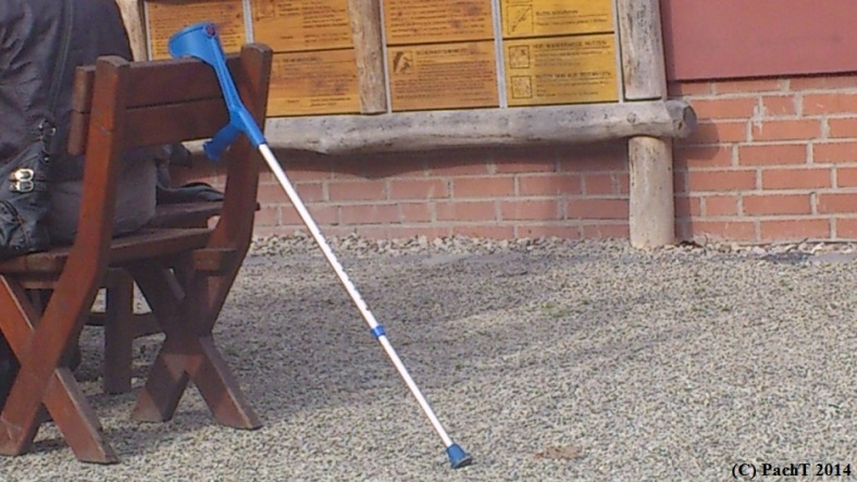 Behinderter behindert leichtfertig