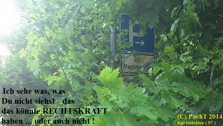 KURIOS 97 Unklare Verkehrsrechtslage