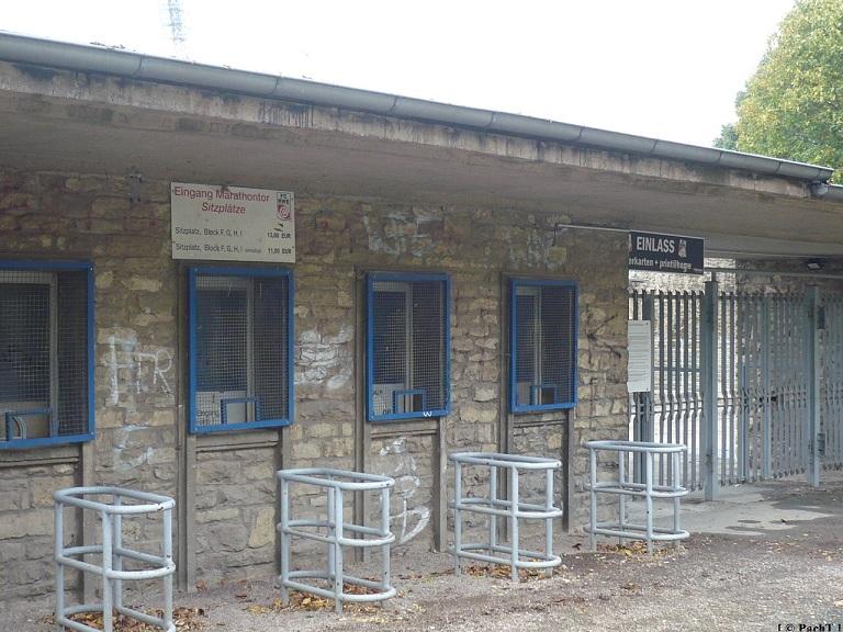 SteigerWaldStadion EF 07 lk. Eingang v. Südpark