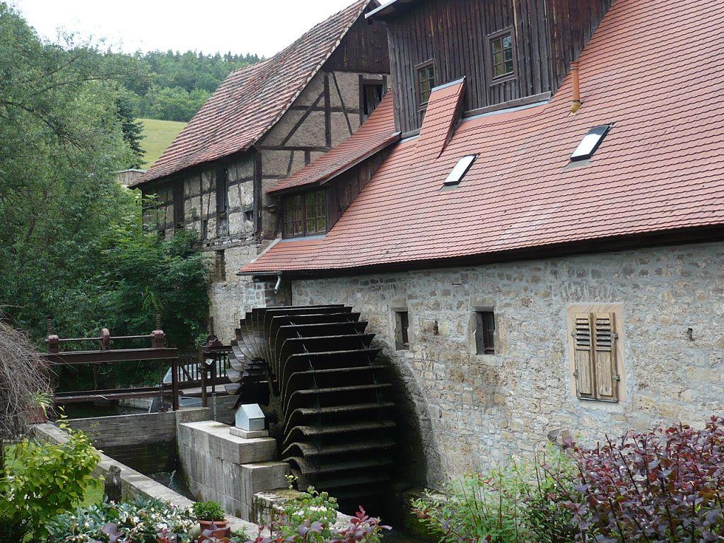 Von BadBerka nach BUCHfart 09 Buchfarter Mühle