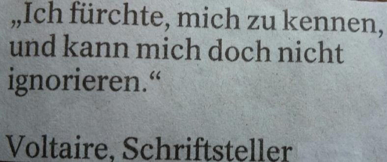 Zitat Sich-Kennen