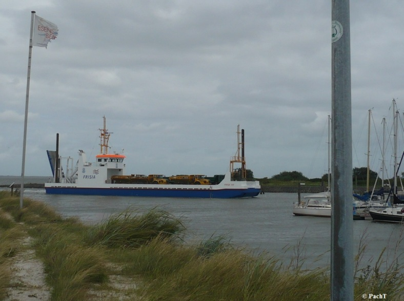 Bensersiel 06 Hafeneinfahrt