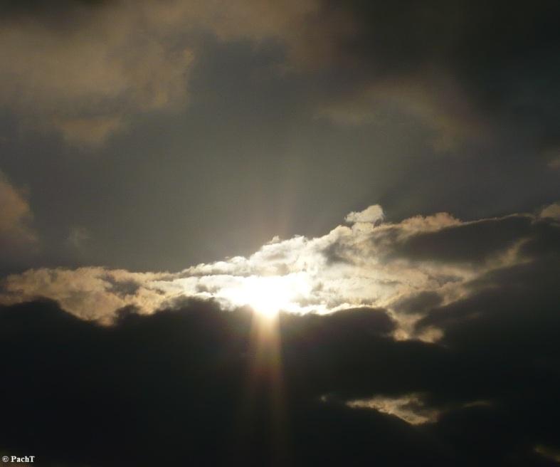 Bensersiel 08 Abend mit Wolken