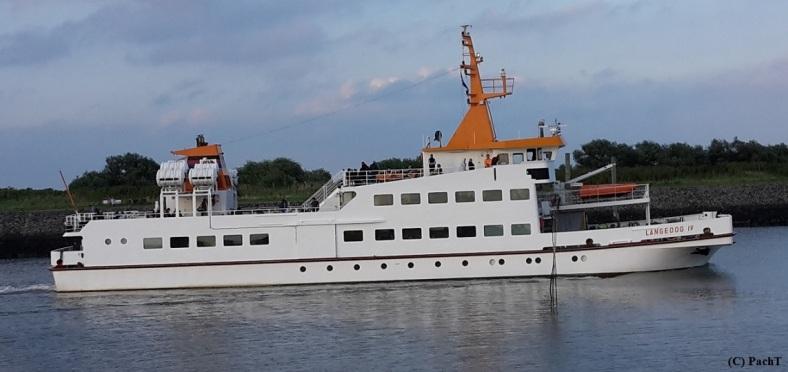 Bensersiel 11 Fährschiff zur Insel LANGEOOG