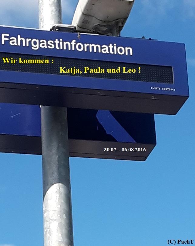 Dorum - Neufeld 00 Bahnhof _ WIR KOMMEN
