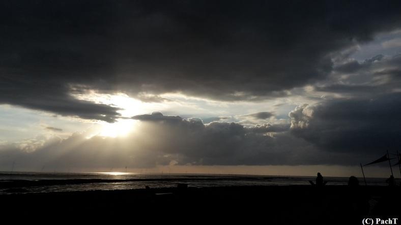 Dorum - Neufeld 29 Wolken u. Wattenmeer