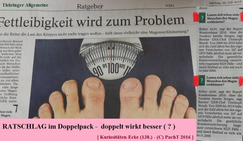 KURIOS 138 Rat im DoppeöPack