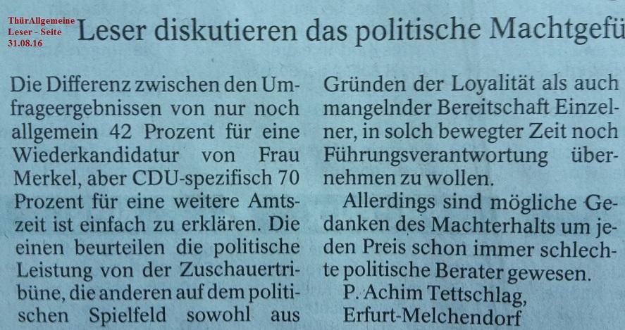 TA-Artikel zu Merkel-Kandidatur _02_2016.08.29 Blog 31.08.16