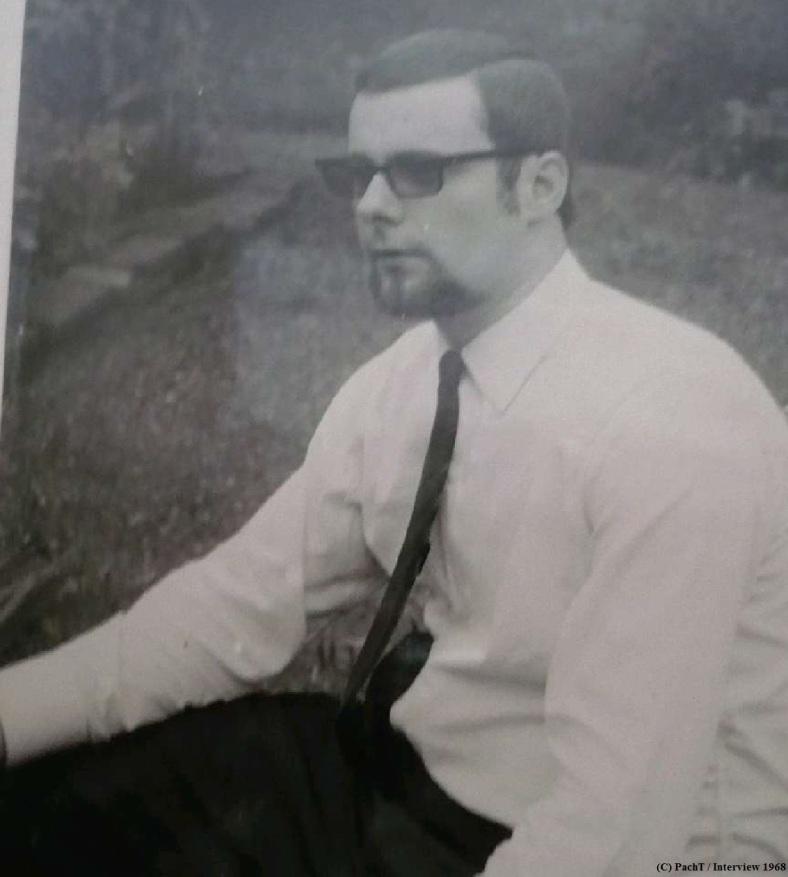 PachT 1968  bei einem Interview - Kopie