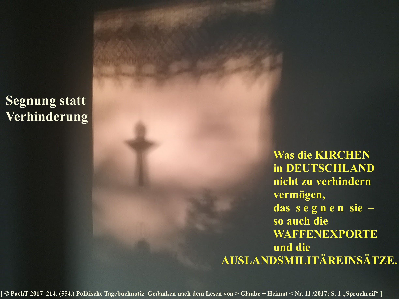 SSW554.Gedanke_Segnung statt ...