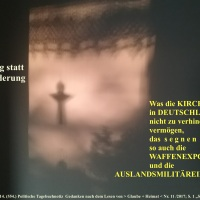 03.07.17 # Was tun denn deutsche  K I R C H E N   gegen deutsche WAFFENEXPORTE  #