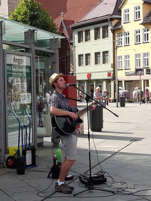 StraßenMusikant live