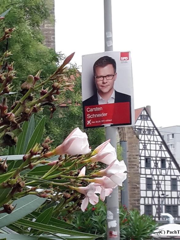 046 BilderBuchWahlKampfStart SPD in Erfurt