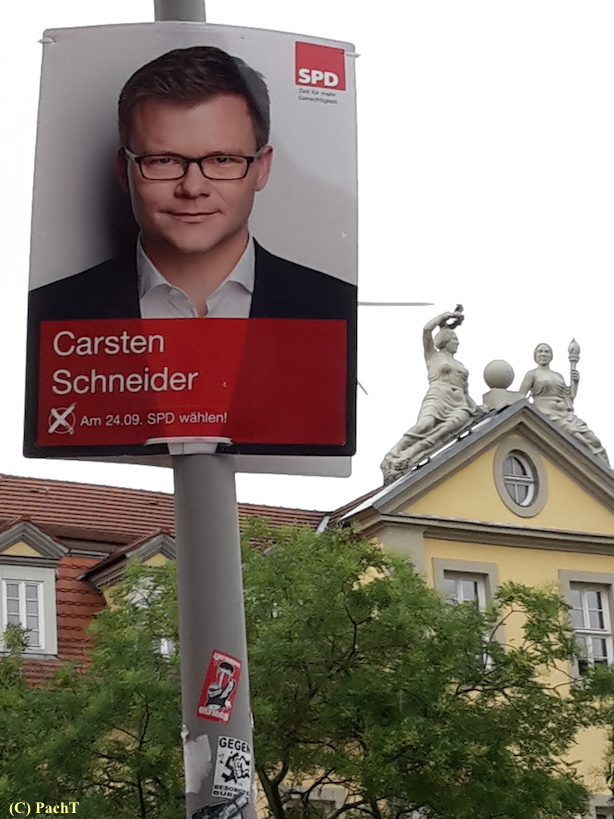 048 BilderBuchWahlKampfStart SPD in Erfurt