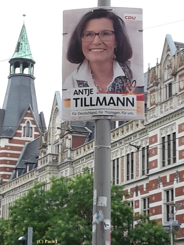 049 BilderBuchWahlKampfStart CDU in Erfurt