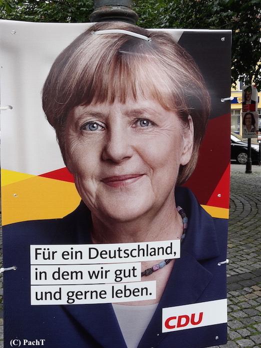 051 BilderBuchWahlKampfStart MUTTI in Erfurt