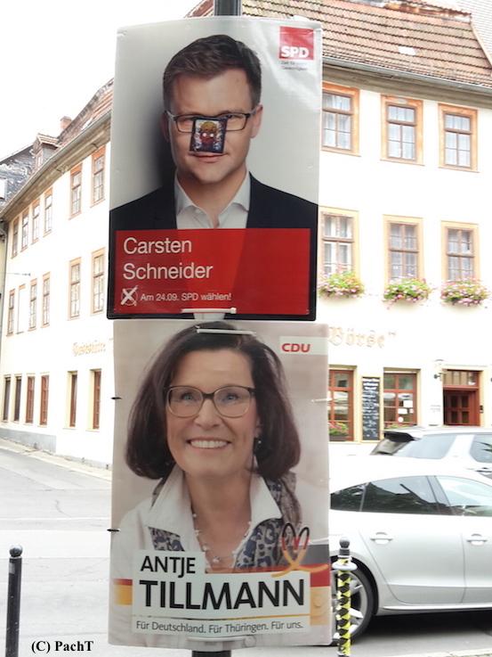 052 WahlKampf Entstellung SPD CDU