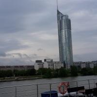 06.08.17# Auf der Donau an WIEN vorbei #