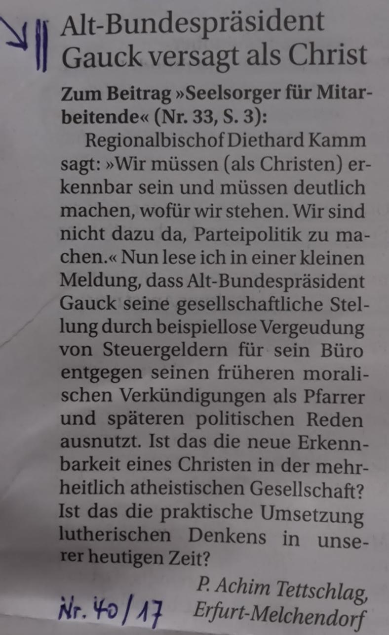 G u H 2017.08.20 Politische Kirche _3_ Blog 2017.10.09