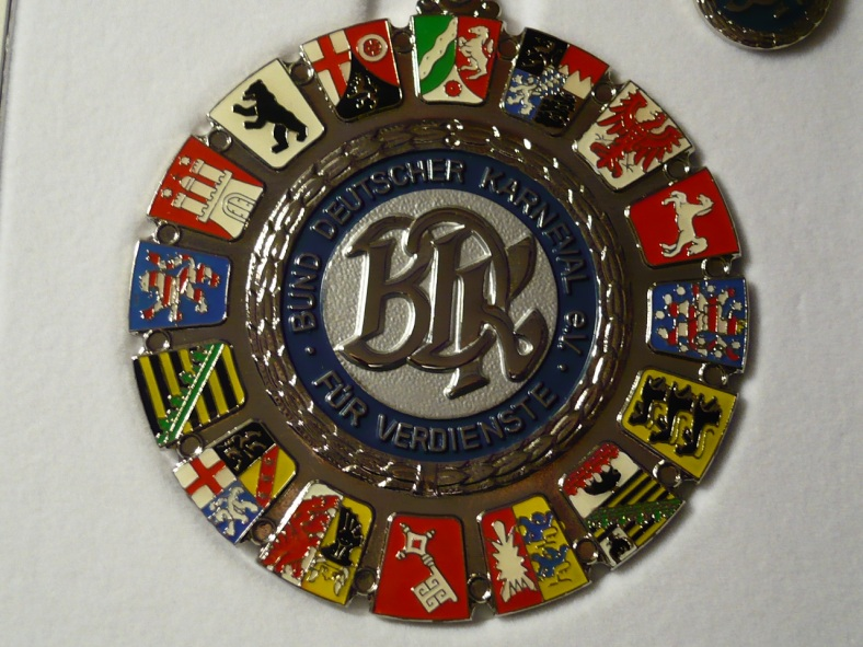 Karneval_BDK-Verdienstorden Silber