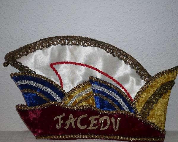 Karneval_FaCeDu-Vereinsmütze