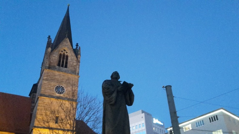 Luther in Erfurt