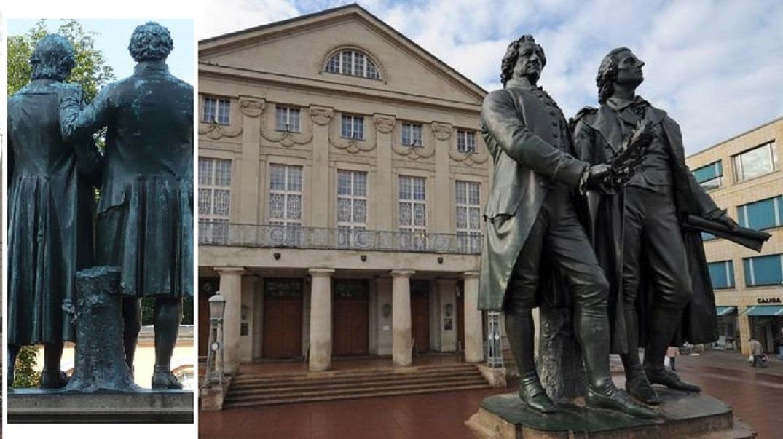 Weimar Theaterplatz Klassiker