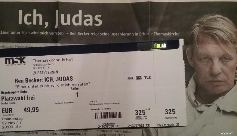 2017.11.02_01 ICH, Judas _ Ticket