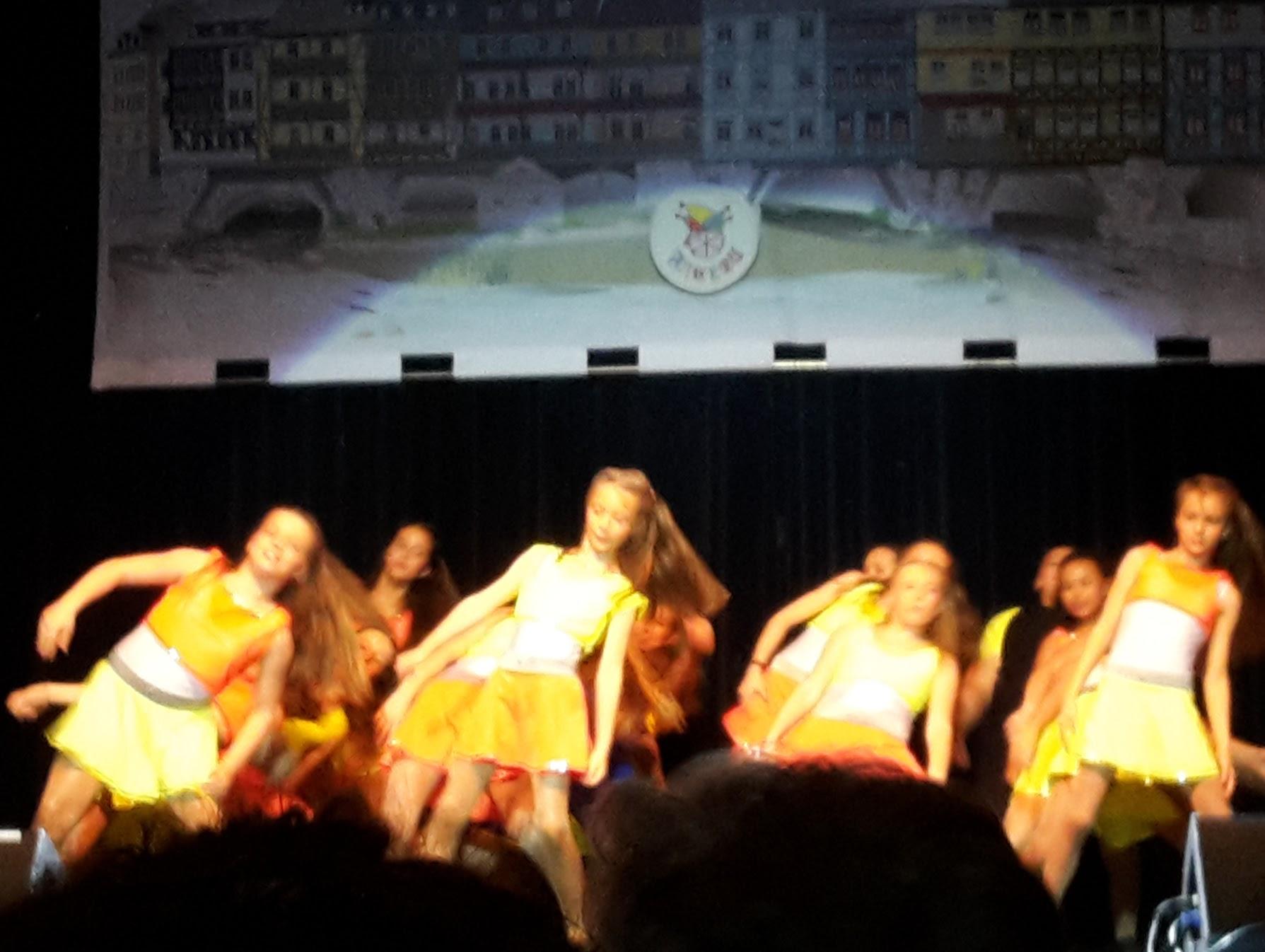 2017.11.18 FaCeDu SessionsEröffnung 18 Crazy Dancers