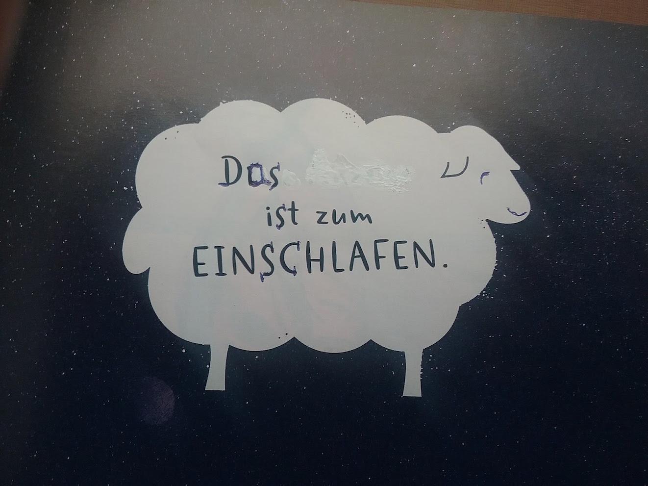 Bild _ EinschlafSchaf
