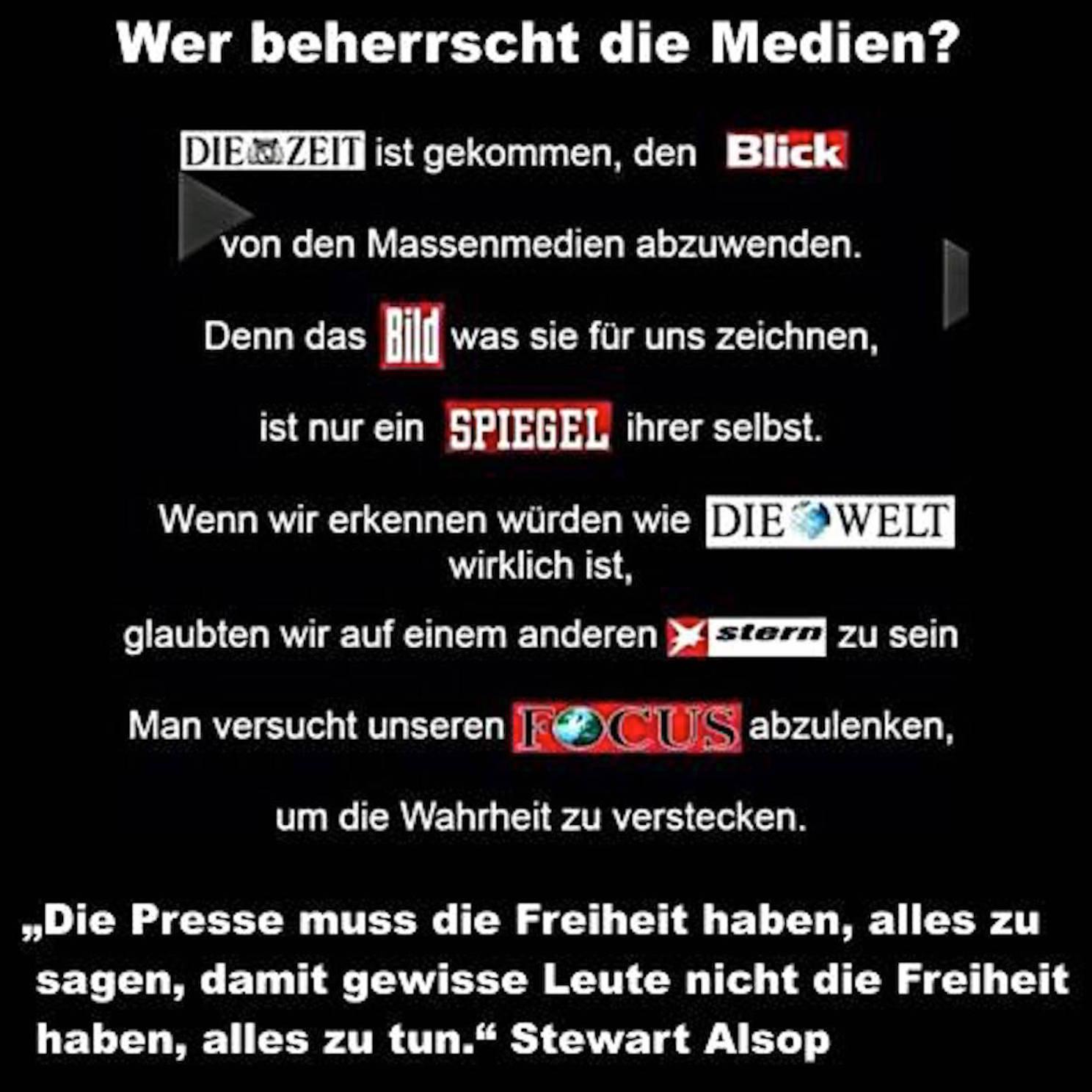 Medien und Meinungen
