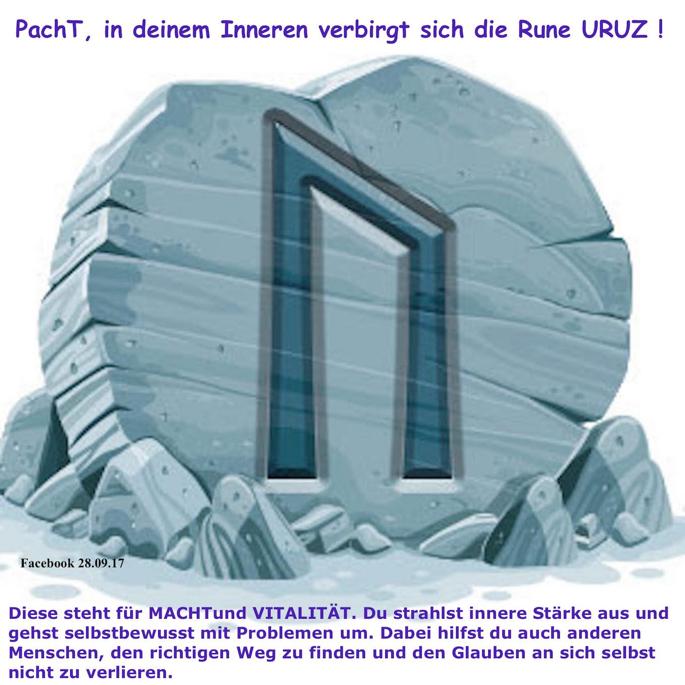 PachT Facebook über mich 2017.09.28 Rune Uruz