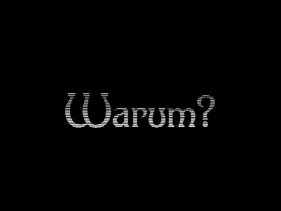 WARUM _ allgemein