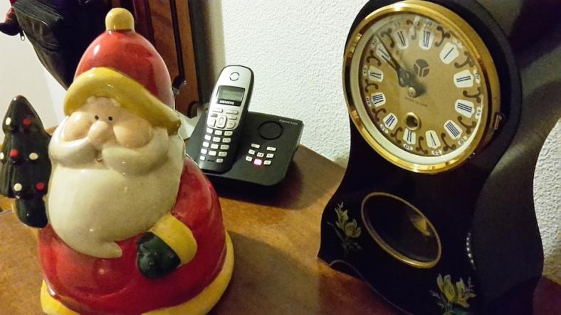Weihnachtlicher TelefonDienst