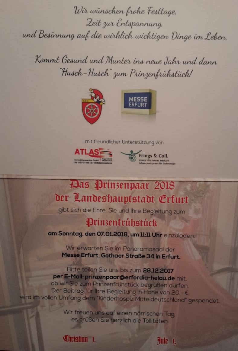 2018 GEC PrinzenFrühstück 02 Einladung