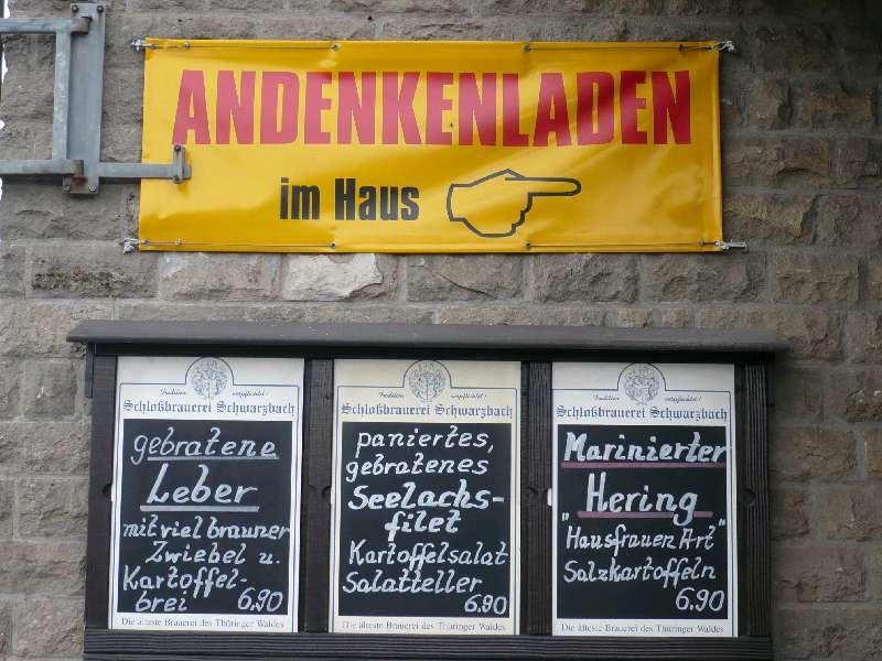 KURIOS 6 Andenken v. Inselsberg