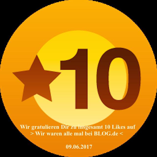 PachTs wordpress 18 Gratulation zu ersten 10 Likes_blog.de 09.06.17
