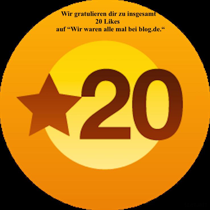 PachTs wordpress 19 Gratulation zu 20 Likes_blog.de 12.07.17